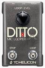 Вокальная педаль TC HELICON DITTO MIC LOOPER
