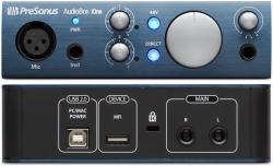 Аудиоинтерфейс PreSonus AudioBox iOne