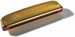 Губная гармошка HOHNER Golden Melody 2416/40 C