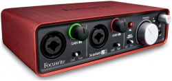 Аудиоинтерфейс FOCUSRITE Scarlett 2i2 2nd Gen USB